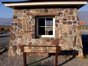 Military Police Sentry Post at Manzanar