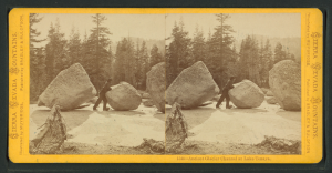 Stereoscope by Edward Muybridge, c. 1870