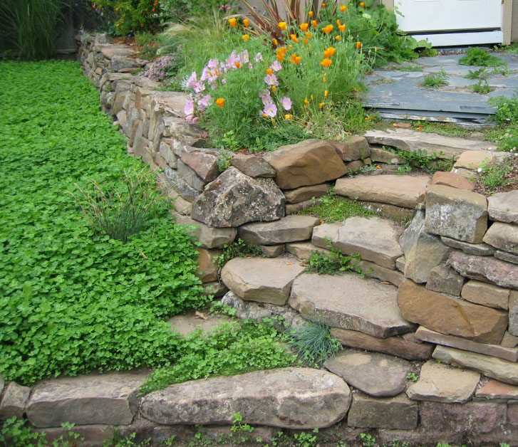 Building Stone Steps : Drystonegarden archive building stone steps for