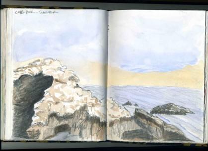 Cave Rock, Sumner