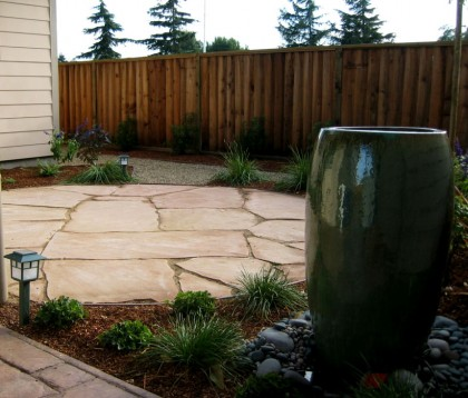 Arizona Peach Patio at Installation