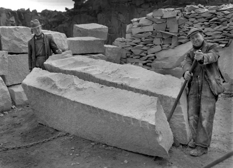 Plug And Feather : Drystonegarden archive bgs quarry photos