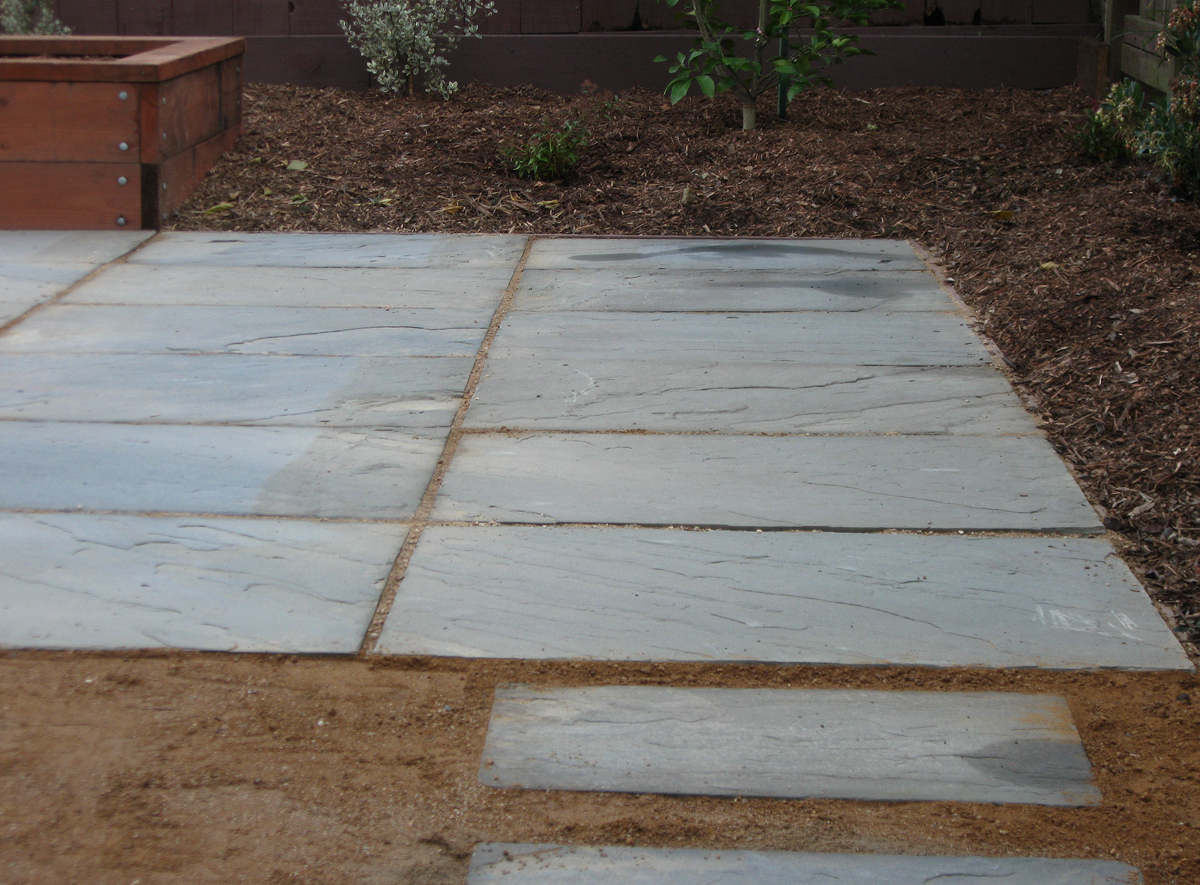 Giving The Patio ...